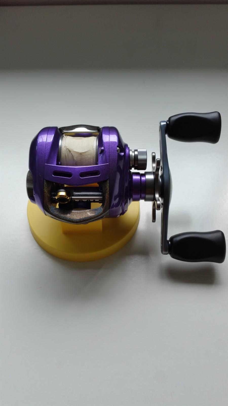 Air brushing fishing reel page 2 for Purple fishing reel