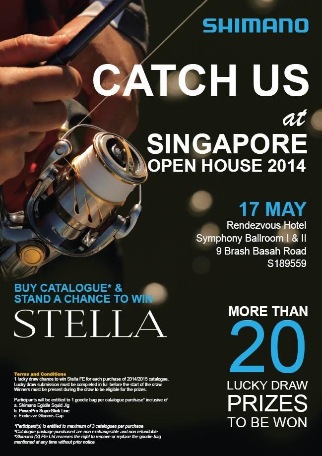 shimano open house singapore 17 may - fishingkaki, Fishing Reels