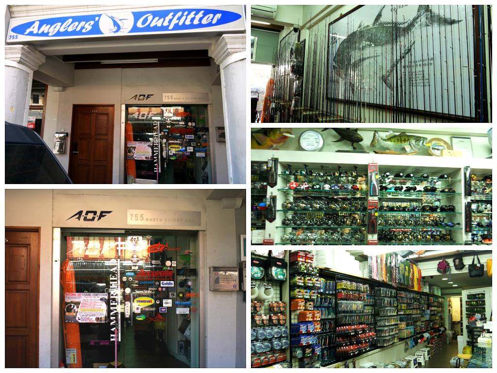 Singapore online tackle shop