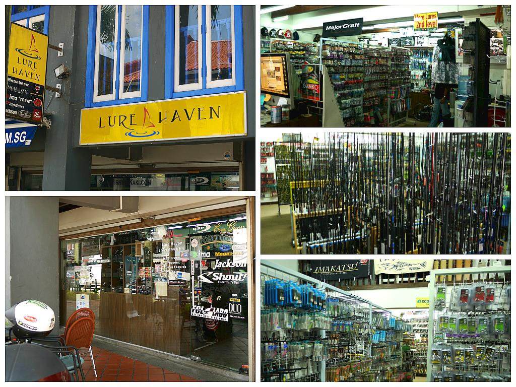 Online tackle shop singapore