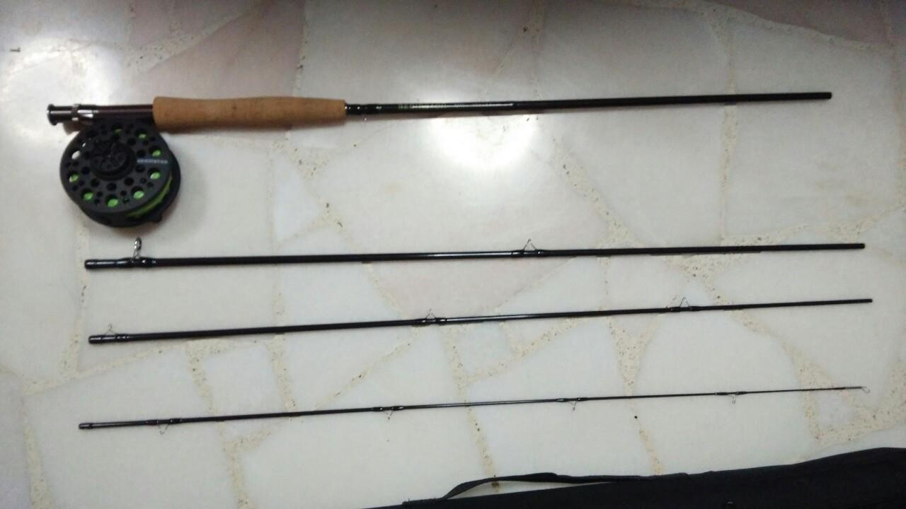 Wts redington path beginner fly set for Good beginner fishing rod
