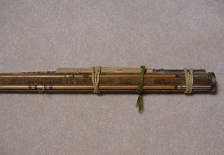 A Classic Antique Bamboo Fly Rod Shakespeare Model 3315